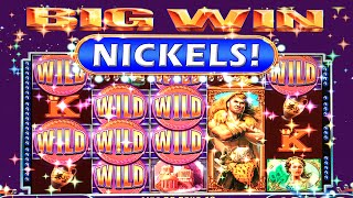 Video MULTIPLE BIG WINS!! ~ 5c Hercules Slot Machine Bonus with Sticky Wilds and Retriggers download MP3, 3GP, MP4, WEBM, AVI, FLV Juli 2018