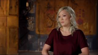 "Guardians of the Galaxy Vol. 2: Pom Klementieff ""Mantis"" Behind the Scenes Movie Interview"