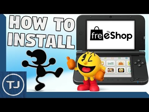 How To Install FreeShop (Latest Update) 3DS/2DS (CFW 11.4) EASY!
