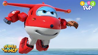 Super Wings | Meet A New Team Member, Flip! 🛩️ | Tiny Pop