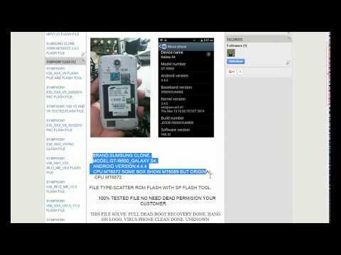 Cara Flash Samsung S4 Replika GT I9500 | FunnyDog TV