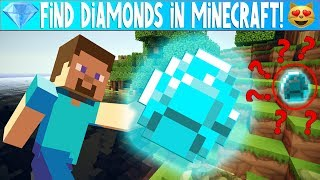 MINECRAFT FIND HIDDEN DIAMONDS - Riddles and Puzzles FOR KIDS | Family Friendly