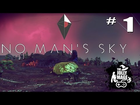 No Man's Sky - Ship Repair and Our First Planet! - Part 1 - Walkthrough Gameplay