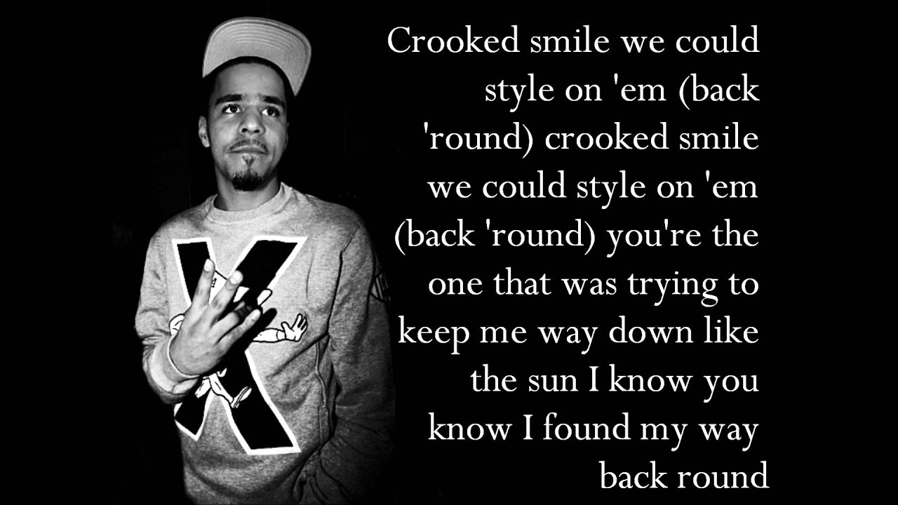 J Cole Crooked Smile Quotes J Cole Quotes Crooked ...