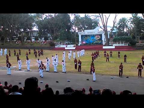 PNPA Lakandula class 2015 silent drill
