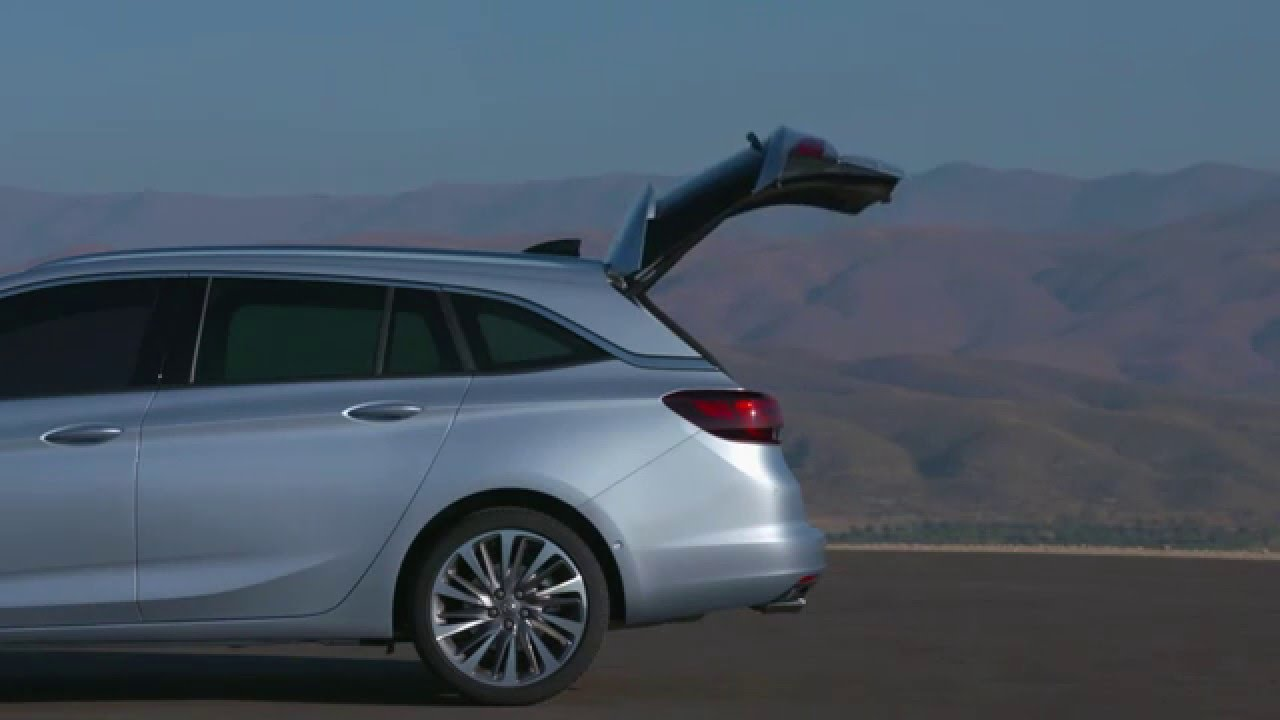 All New 2016 Opel Astra Sports Tourer  Luggage  YouTube
