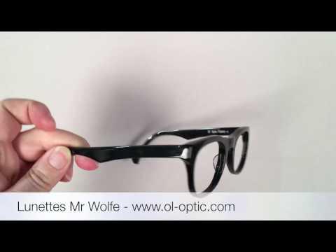 Lunette créateur Mr Wolfe - Ol'Optic - Opticien à Toulouse quartier Borderouge