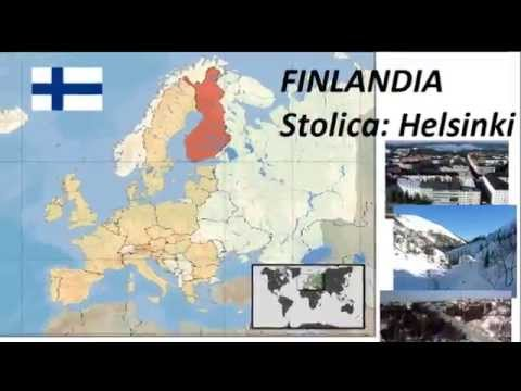 Państwa I Stolice Europy Youtube