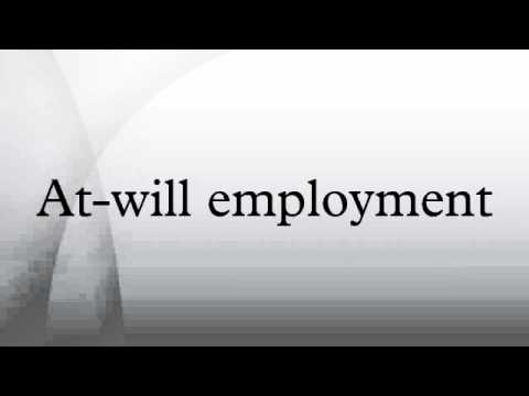 At-will employment