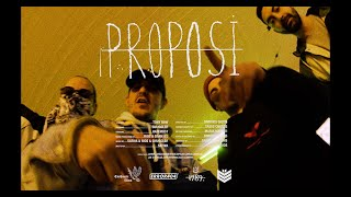 Tony Raw - PROPOSI (feat. Smuggler & Hatemost) (Official Music Video)