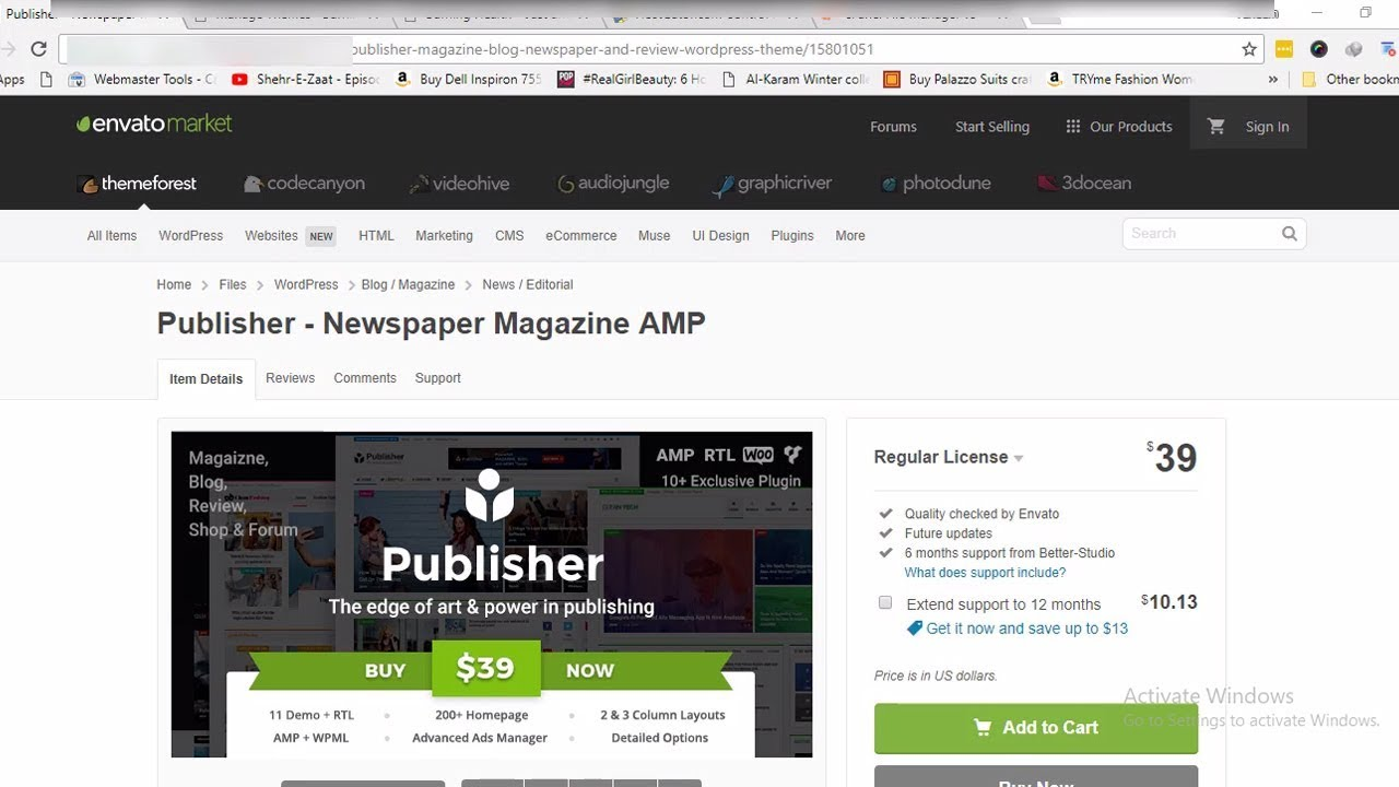 Download Install and Activate Publisher Premium WordPress Theme Without  Activation Key