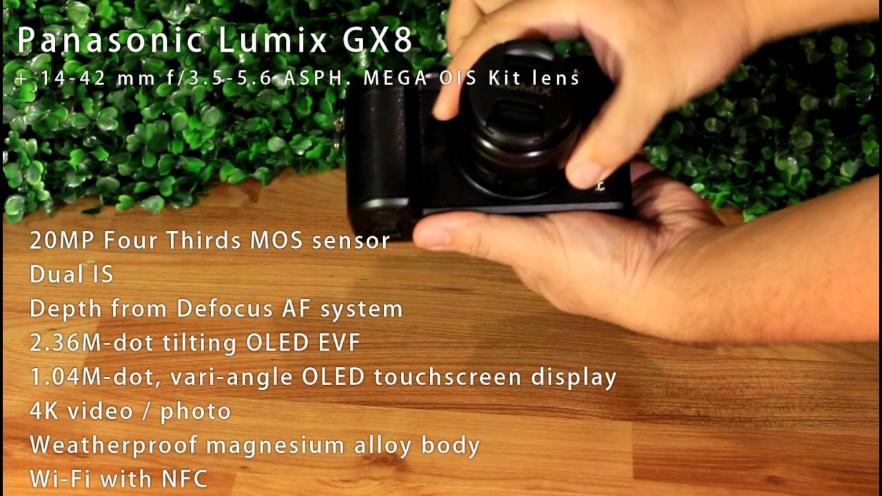 Unboxing Panasonic Lumix DMC-GX8 with Lumix G 20mm F1.7 and Lumix .