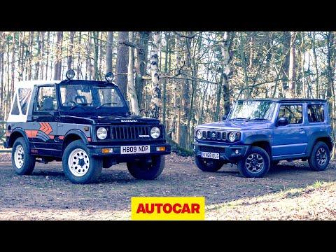 2019 Suzuki Jimny Meets 1989 Suzuki SJ410 | 4x4s Off-road | Autocar Heroes