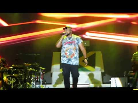 Sean Paul - We Be Burnin' live at Uprising festival 2017 Slovakia