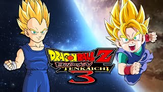DBZBT3: Vegeta JR VS Goku JR (Duels)