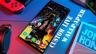 How To Create Your Own Custom Live Wallpaper 2020 - Android Smartphone Tutorial screenshot 1