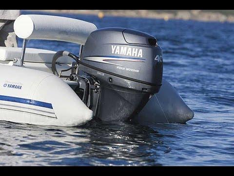 Диагностика лодочного мотора Yamaha ноутбуком.