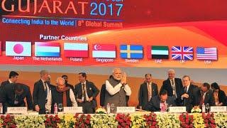 PM Narendra Modi at 8th Vibrant Gujarat Global Summit 2017, Gandhinagar Gujarat