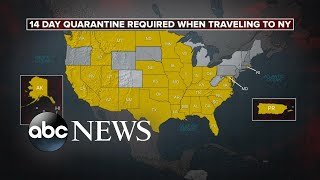 New York sets up quarantine checkpoints to stop COVID-19 | ABC News