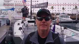 Interview with Terry Hutchinson, Tactician of Quantum Racing, at Quantum Key West 2014