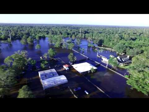 Wild Peach Tx Harvey 2017 drone vid