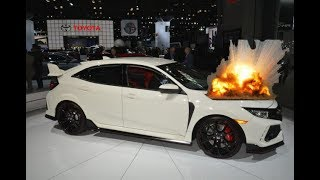 Honda dealership abusing the new  2017 civic Type R! (gone moneyshiftual)!!!