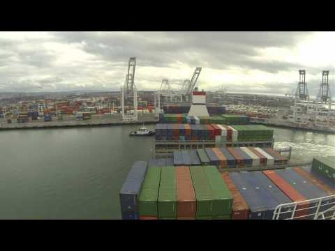 CMA CGM BEN FRANKLIN Outbound From Oakland