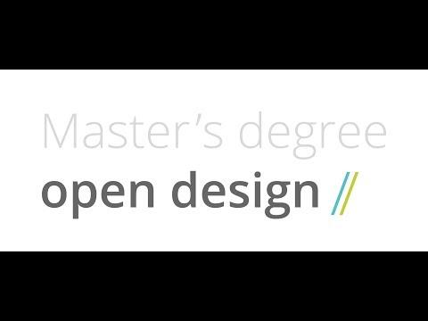 #1 Master Open Design