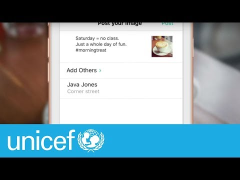 Think before you share | UNICEF