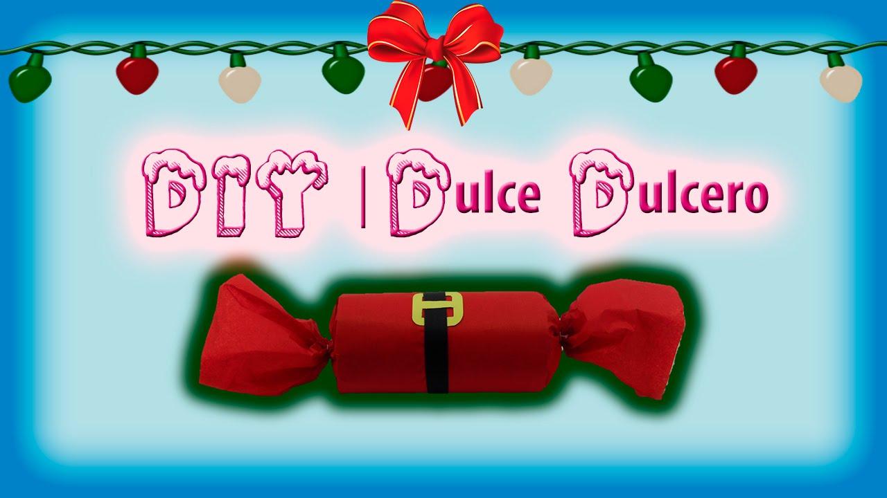 Diy como hacer un dulcero navide o f cil y r pido for Menu navideno facil de hacer