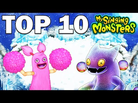 TOP 10 SONGS - FADE, DESPACITO, SHAPE OF YOU & MORE - SINGING MONSTERS!