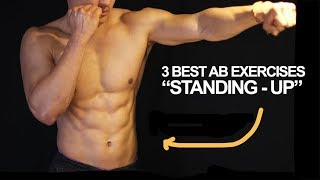 Video 3 Best Six Pack Ab Exercises (Standing Up) From Muay Thai Champion download MP3, 3GP, MP4, WEBM, AVI, FLV November 2017
