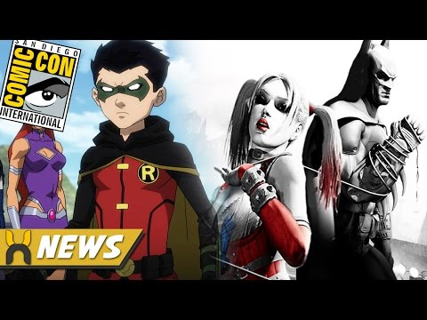 New DC Animated Movies: Teen Titans Judas Contract, Batman & Harley Quinn, and more!