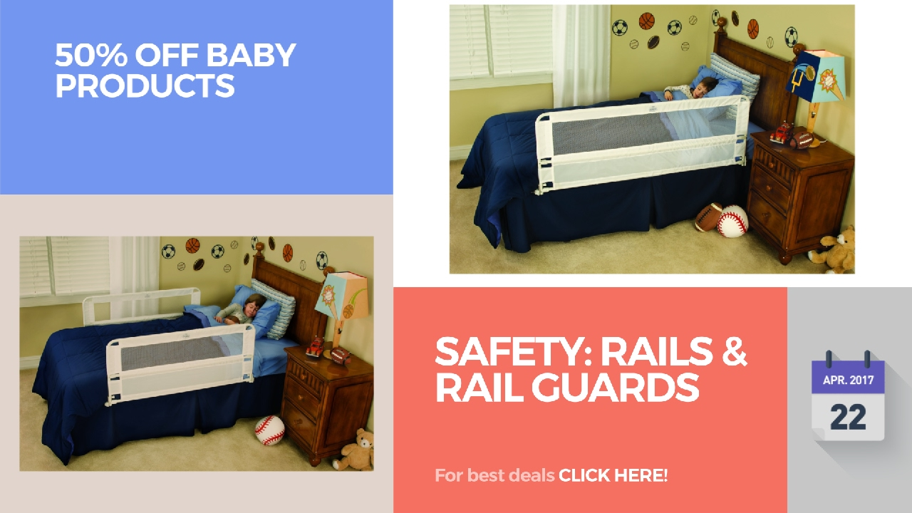 Safety Rails Rail Guards 50 Off Baby Products