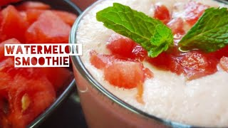 Watermelon Smoothie | Watermelon Milkshake Recipe | healthy watermelon smoothie recipe