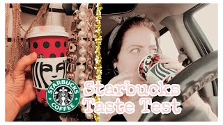 TRYING OUT HOLIDAY/CHRISTMAS STARBUCKS REVIEW 2019 | starbucks is expensive