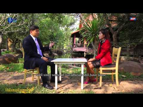 "Interview Minister of Environment about ""Sustainable Economic Development in Cambodia"""