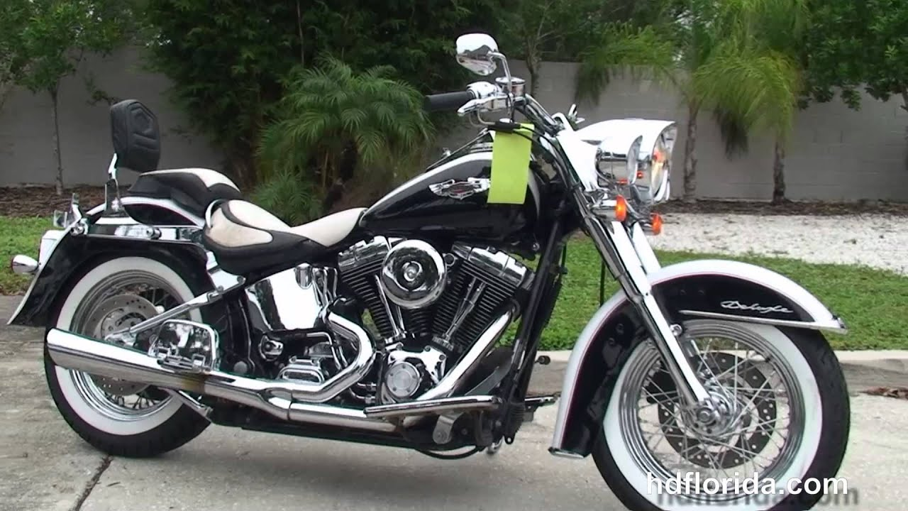 used 2005 harley davidson softail deluxe motorcycle for sale atlanta georgia youtube. Black Bedroom Furniture Sets. Home Design Ideas
