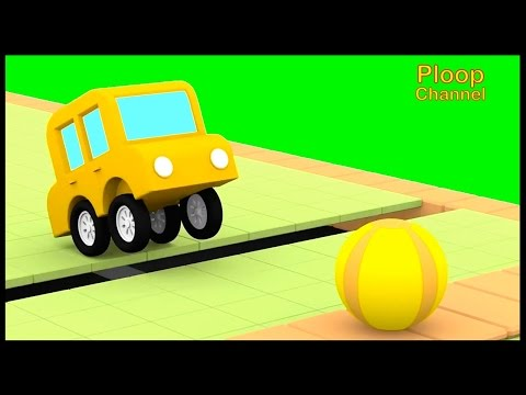 Cartoon Cars - Car School SPORTS DAY! - Cars Cartoons for Children Animation videos for kids