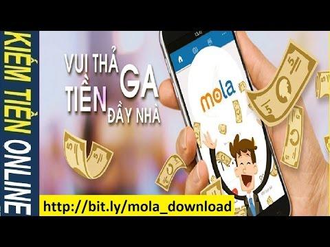 Mola: Kiếm tiền online trên điện thoại Smartphone Android - Cách kiếm tiền trên mạng