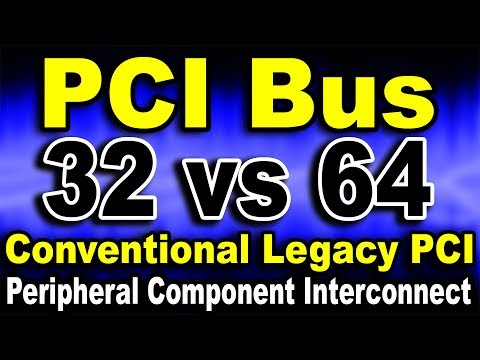 What is PCI? 32 vs 64 Bit PCI Bus (Hindi) | Kshitij Kumar