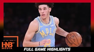 Los Angeles Lakers vs Washington Wizards Full Game Highlights / Week 2 / 2017 NBA Season