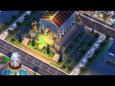 Temple Of Artemis In SIMCITY BUILD IT