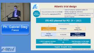 G. Steg, France: New and upcoming data regarding Ticagrelor in ACS and PCI