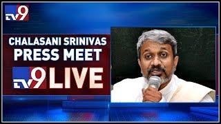 Chalasani Srinivas Rao Press Meet LIVE    Vijayawada - TV9