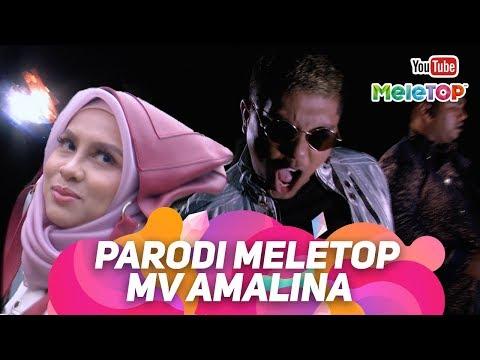 Parodi MV Amalina Santesh Tudung Viral Neelofa | Jihan Muse | MeleTOP