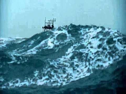 Top 10 navios na tempestade Ondas Aterrorizantes!