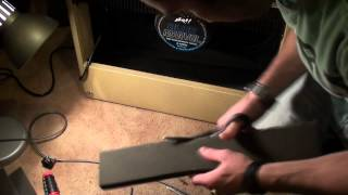 Trying to fix the Peavey Delta Blues Reverb Hum / Rattle