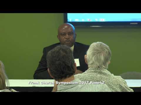 Frank Church Symposium 2017  Panel 2:  Colonialism