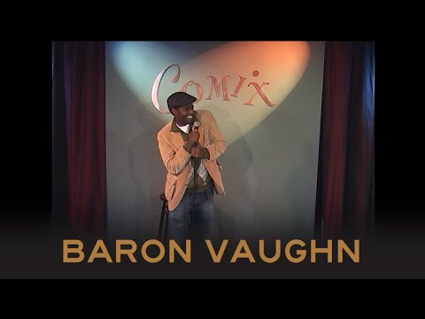 White Jokes  Baron Vaughn  Comix